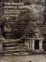 The Indian Temple Forms in Karṇāṭa Inscriptions and Architecture
