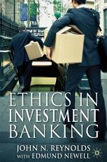 Ethics in Investment Banking PDF