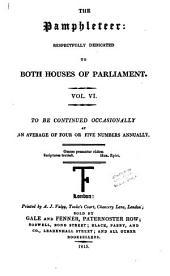 The Pamphleteer: Volume 6