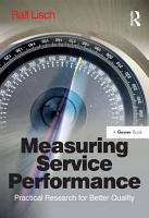 Measuring Service Performance PDF