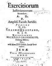 Exercitia Iusitianea: Volume 2
