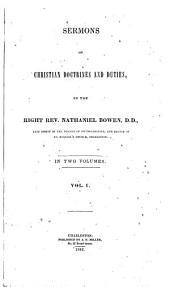 Sermons on Christian Doctrines and Duties: Volume 1