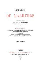 Œuvres de Malherbe: Volume1