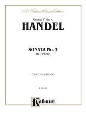 Sonata No. 2 in D Minor: For Cello and Piano