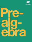 Prealgebra Book