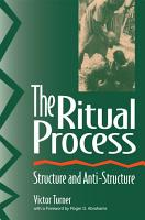 The Ritual Process PDF