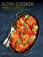 Slow Cooker Family Classics PDF