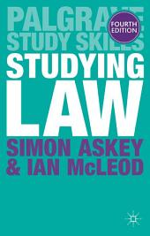 Studying Law: Edition 4