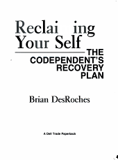 Reclaiming Your Self PDF