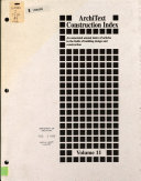 Construction Index PDF
