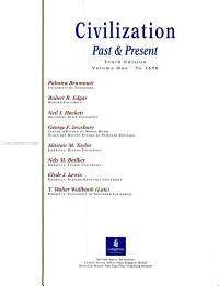 Civilization Past   Present PDF