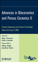 Advances in Bioceramics and Porous Ceramics II PDF