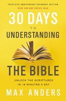 30 DAYS UNDRSTNDG BIB PDF