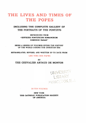 The lives and times of the popes: Volume 5