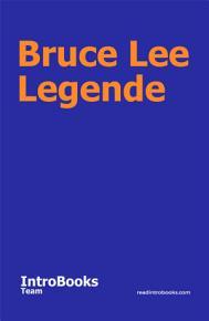 Bruce Lee Legende PDF