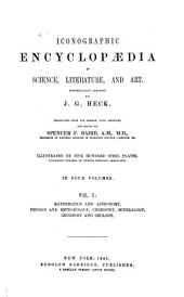 Iconographic encyclopaedia of science, literature, and art: Volume 1