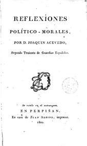 Reflexiones político morales