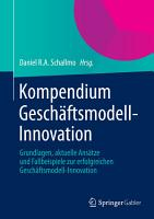 Kompendium Gesch  ftsmodell Innovation PDF