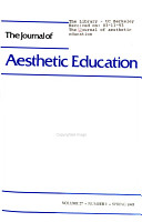 The Journal of Aesthetic Education PDF