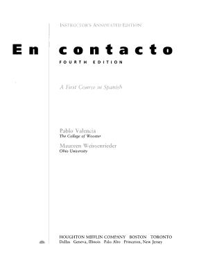 En Contacto PDF