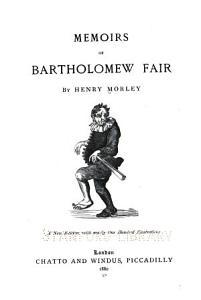Memoirs of Bartholomew Fair PDF
