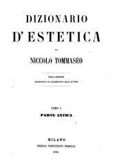 Dizionario d'estetica: Volumi 1-2