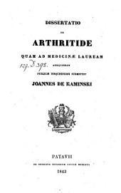 De arthritide