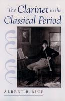 The Clarinet in the Classical Period PDF