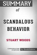 Summary of Scandalous Behavior by Stuart Woods  Conversation Starters