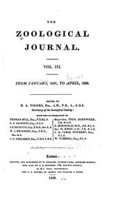 The Zoological Journal: Volume 3