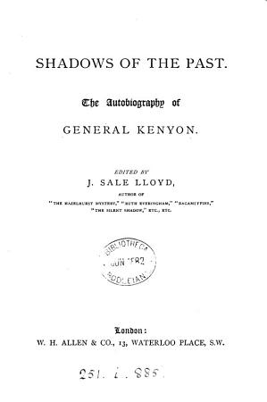 Shadows of the past  ed   on rather written  by J S  Lloyd PDF