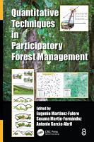 Quantitative Techniques in Participatory Forest Management PDF