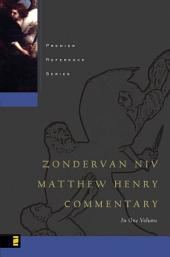 Zondervan NIV Matthew Henry Commentary