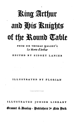 King Arthur And His Knights Of The Round Table Book PDF