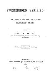 Swedenborg Verified by the Progress of the Past Hundred Years