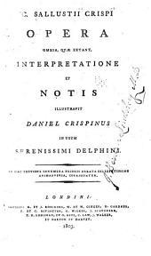 (C. Sallustii Crispi) opera omnia: quae extant