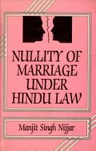 Nullity of Marriage Under Hindu Law PDF
