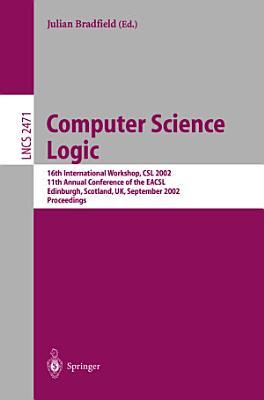 Computer Science Logic PDF