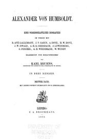 Alexander von Humboldt: Band 3