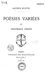 Poésies variées et Nouveaux chats