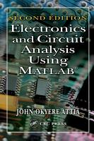 Electronics and Circuit Analysis Using MATLAB PDF