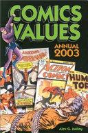 Comics Values Annual 2003