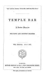 Temple Bar: Volume 38
