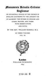 Monumenta Ritualia Ecclesiae Anglicanae
