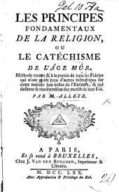 Les Principes fondamentaux de la religion, ou le catéchisme de l'âge mûr