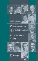 Reminiscences of a Statistician PDF
