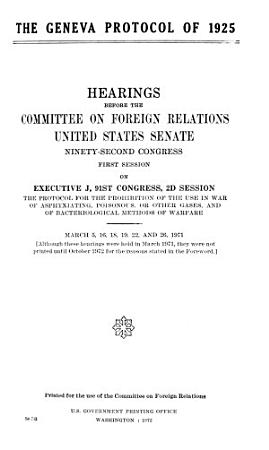 The Geneva Protocol of 1925 PDF