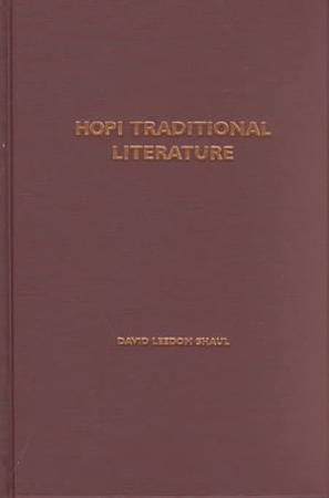 Hopi Traditional Literature PDF