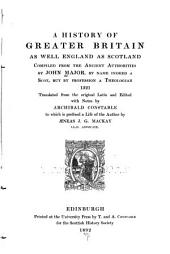 A History of Greater Britain as Well England as Scotland: Volume 10