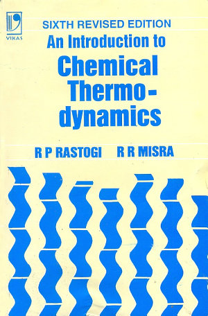An Introduction To Chemical Thermodynami